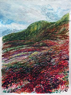 VA_11, watercolour on paper, 23x30,5 cm, 2020
