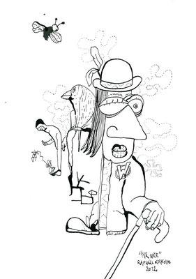 """Mr Nice<BR><FONT size=""""1"""">29,7 x 21cm R.K. 2012</FONT><BR>"""