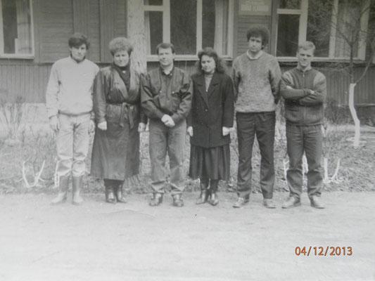 Колектив СЮТ 80-ті р.