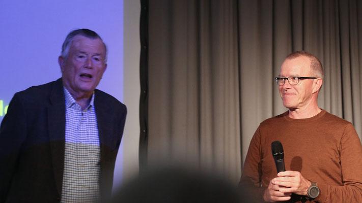 Einhard Bezzel und Stephan Trösch (Foto Hans-Martin Koch)