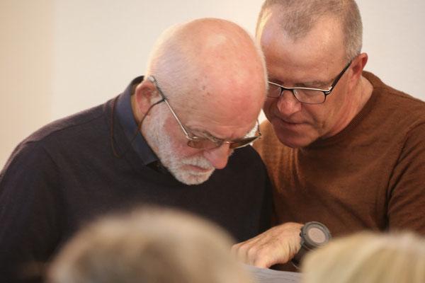Harald Jacoby und Stephan Trösch (Foto Hans-Martin Koch)