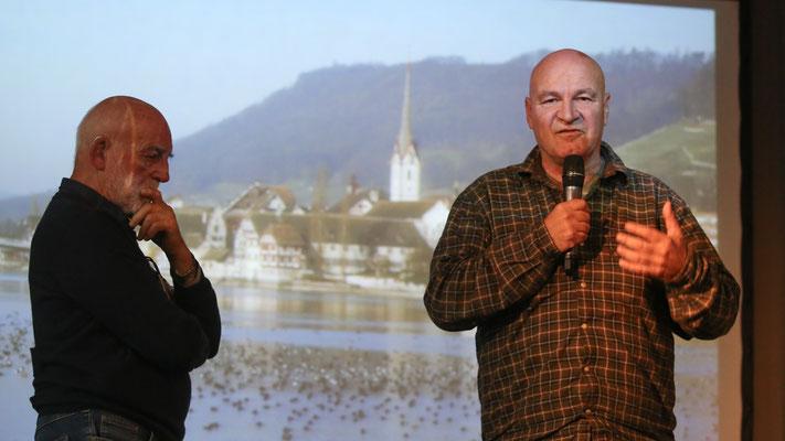 Harald Jacoby und Guido Leutenegger (Foto Hans-Martin Koch)