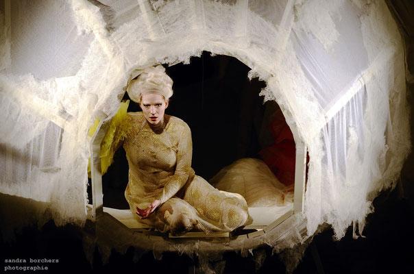 L´incoronazione di Poppea (Monteverdi), Theater Aachen 2017, Regie: Jarg Pataki