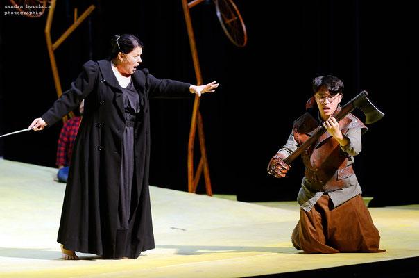 Der Zauberer von Oz (Schreier), Probenfotos, Theater Aachen 2019, Regie:  Ute M. Engelhardt