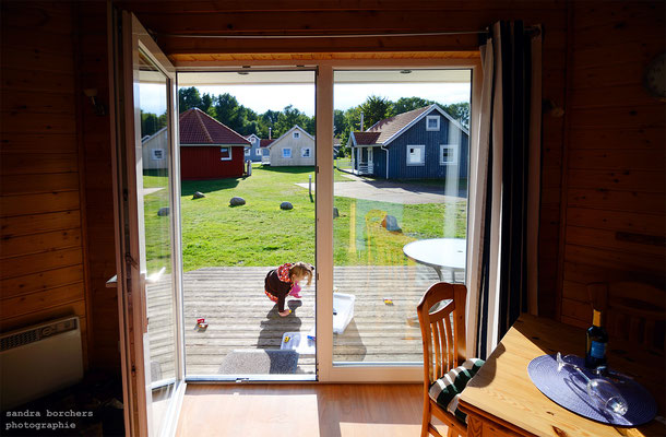 Blick aus der Eingangstür