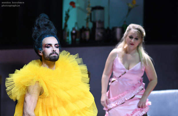 La Calisto (Cavalli), Theater Aachen 2020, Regie: Ludger Engels