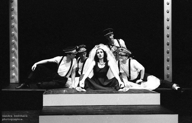 Kopf unterm Arm (Friedrich Hollaender-Revue), Folkwang Hochschule 1996, Regie: Renate Heuser