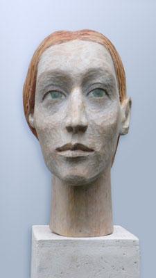 """Anna"", 2014, ca. 32 x 8 x 21 cm"
