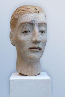 """Kleiner Kopf"", 2013, ca. 27 x 16 x 13 cm"