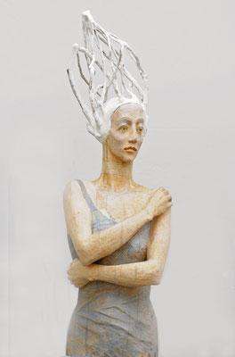 """Seherin"", 2011, Höhe ca. 120 cm"