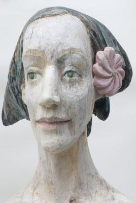 """""""Die schöne Columbine"""" 2017, 65cm"""