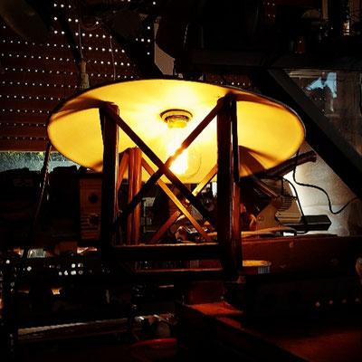 Lavorazione costruzione lanternino per esterno - Fase 3