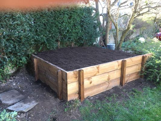 Bereit zum bepflanzen
