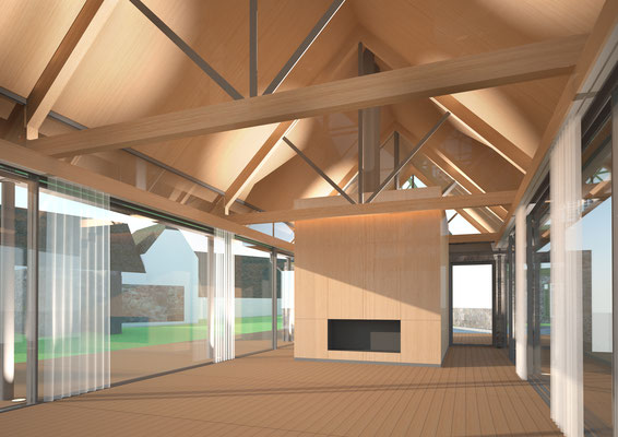 Gartenhaus | DE | Entwurf | Farb- und Materialkonzept | Interior Design | RSE Planungsgesellschaft mbH | Kassel