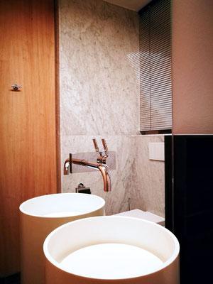 Haus SST  bei Kassel   Gäste WC