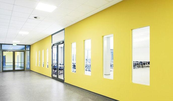 Erich-Kästner-Schule   Baunatal   Interior Design + Farb- und Materialkonzept   RSE Planungsgesellschaft mbH