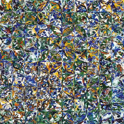 Lisboa Nr. 3 | 1.00 x 1.00 m | Fotocollage digital auf Hahnemühle FineArt Papier | Auflage 5 Stück