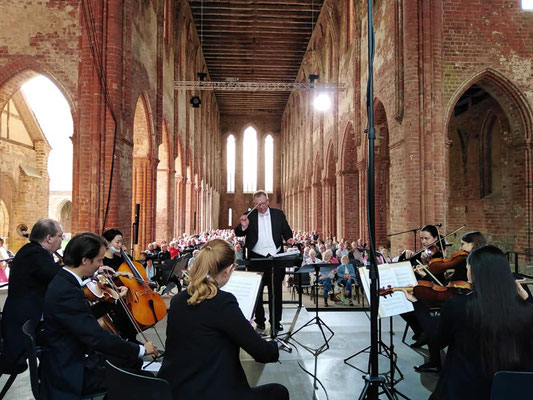 Kloster Chorin Konzertreihe August/September 2020