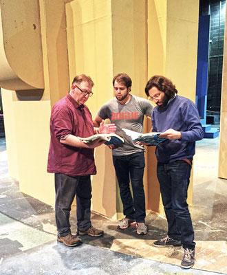 """Lawrence/Kansas/USA, Workshop-& Interpretations-Dialog mit studentischen Orchestermusikern, Projekt """"Don Giovanni""""."""