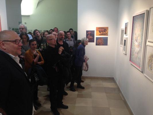Großer Andrang bei unserer Ausstellung! (Foto: Milan A. Ilic)