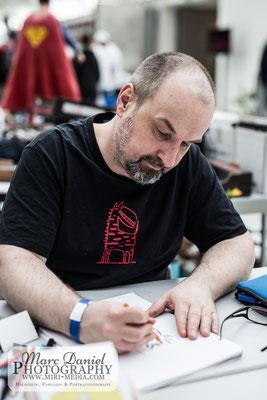 Tag 1: Arnulf Kossak arbeitet sich ein - Foto: Marc Daniel Mühlberger