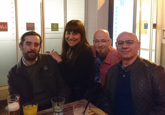 Álvaro Martínez, Flavia Scuderi, Dino und Joe Rubinstein (Foto: Oliver Erenyi)