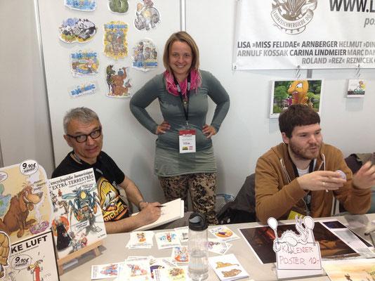Milan A. Ilic, Ingrid Berger und Stefan Prochaska