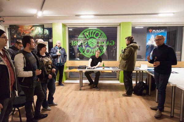 Karikaturmuseum-Krems-Direktor & NEXTCOMIC-Erfinder Gottfried Gusenbauer eröffnet