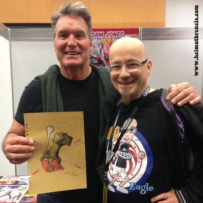 Eine Zeichnung für Flash Gordon (Foto: Anna Hillbrand)