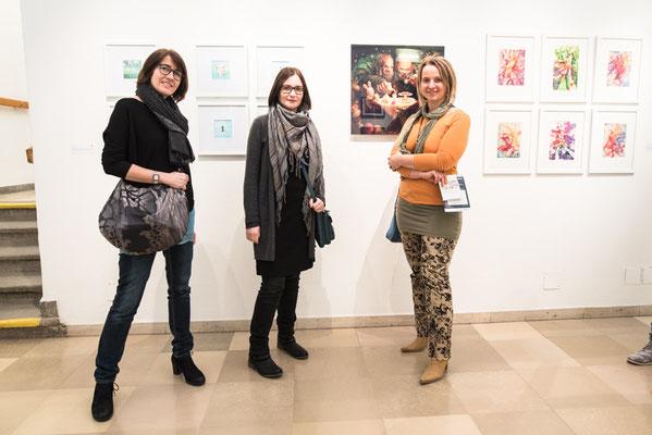 Edith »Eche« Wregg, Elle Ecker und Ingrid Berger - Foto: Marc Daniel Mühlberger