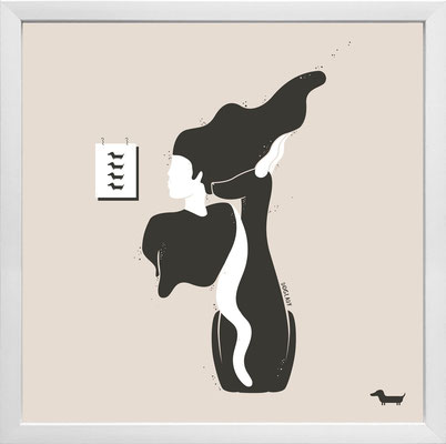 """doglady"" - © Andrea Hörndler"