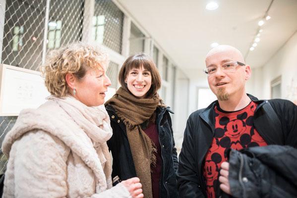 Conny Wolf, Verena Rotky (Graz) und Helmut »Dino« Breneis - Foto: Marc Daniel Mühlberger