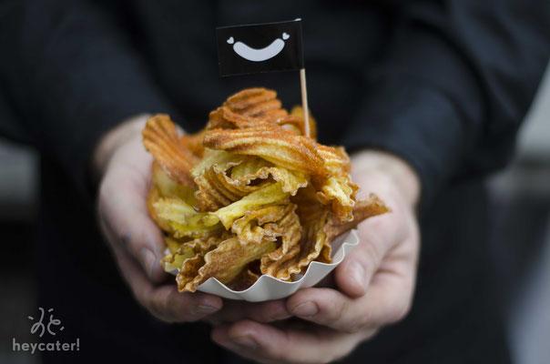 Kartoffelchips Food Truck