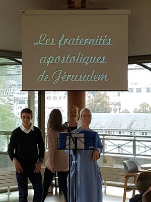 Rencontre avec les fraternités apostoliques de Jérusalem