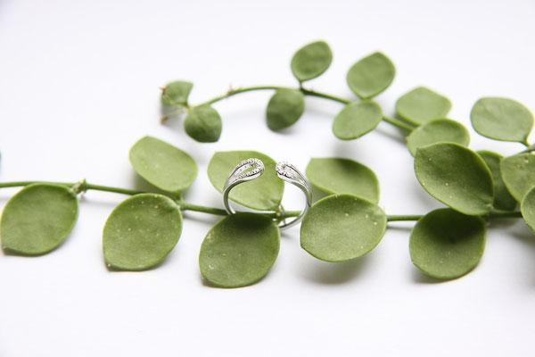 Ring  'YANA'  925 Sterling Silber/Zirkonia