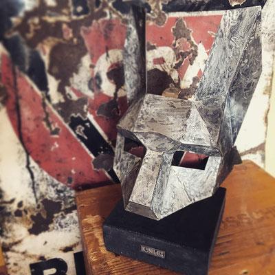 Blechmaske Verzinnt (Mask Design: Steve Wintercroft | Metalcraft: KYRILES)