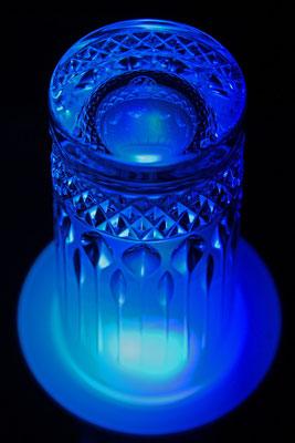 """Verre à vodka """"Artemis"""", cristallerie royale de champagne."""