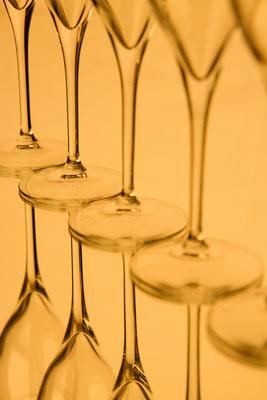 Coupes de champagne...
