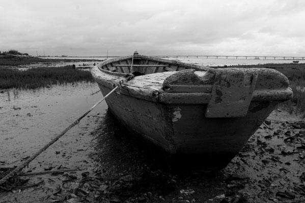 Une barque à l'ïle d'Oléron...