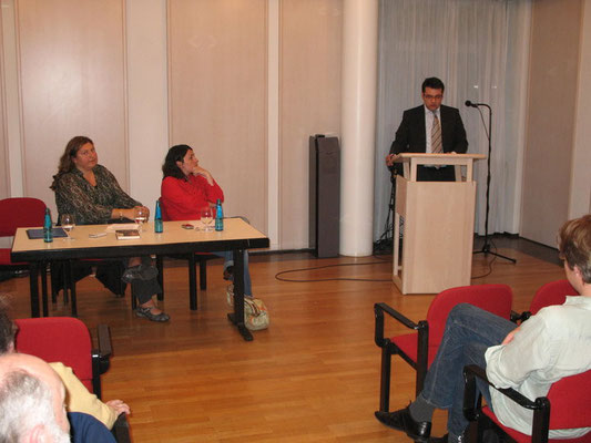 Vortrag vor Stipendiaten und Alumni der Studienstiftung des Deutschen Volks in München mit Lamya Kaddor und Elif Duygu Cindik-Herbrüggen