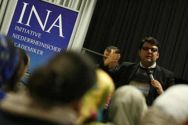"""Vortrag auf Einladung der """"Initiative Niederrheinischer Akademiker - INA e.V."""""""