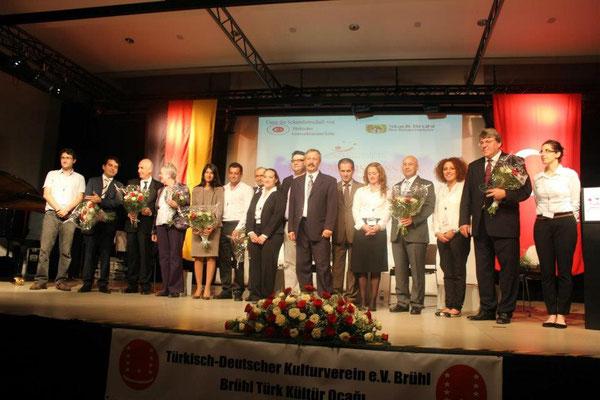 Moderation der Veranstaltung anlässlich des 50jährigen Jubiläums zum Anwerbeabkommen u.a. mit Prof. Dr. em. Boos-Nünning, Yunus Ulusoy (Zentrum für Türkeistudien und Integrationsforschung, Serap Güler (MdL NRW, CDU) und Ahmet Ünal (Politikwissenschaftler)