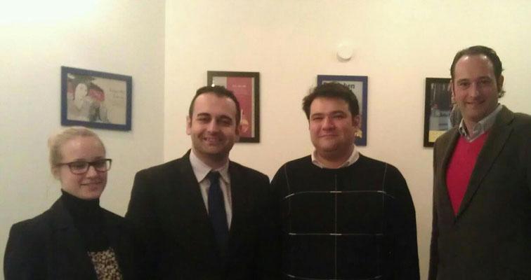 Besuch von Bijan Djir-Sarai, ehem. FDP-Bundestagsabgeordneter aus Neuss