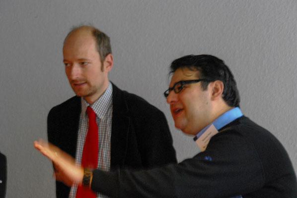 Auszeichnung von Cemile Giousouf (MdB, CDU) vertreten durch ihren Büroleiter