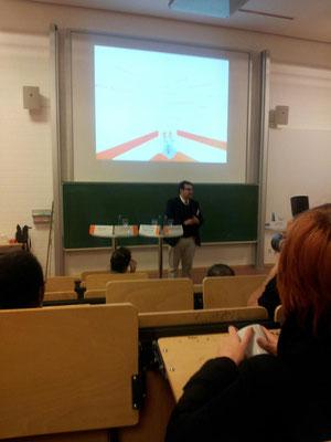 Vortrag an der Fachhochschule Dortmund
