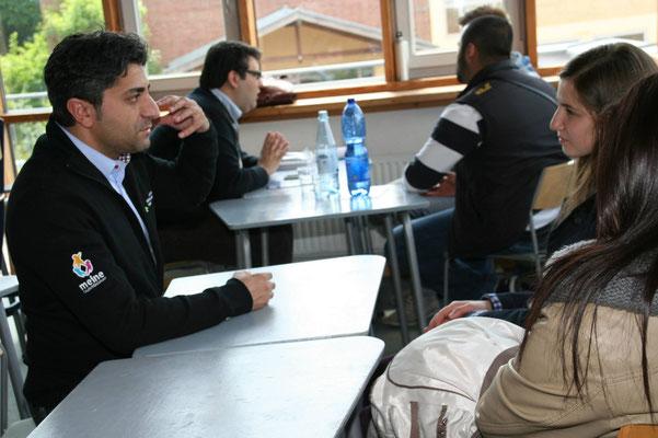 """Coaching-Veranstaltung von """"International Business Club"""" u.a. mit Suat Yilmaz (Talentscout, FH Gelsenkirchen)"""