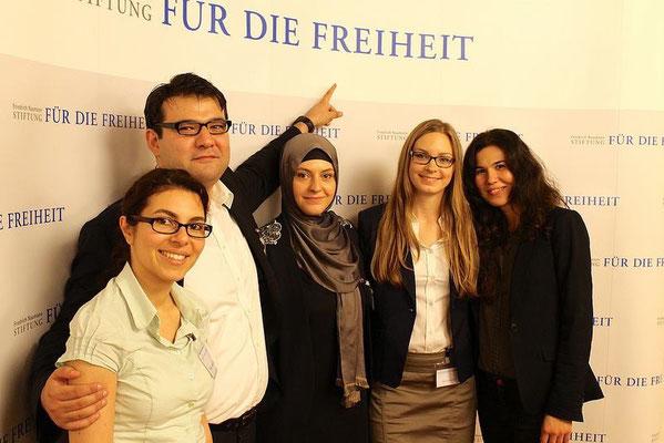 """Gemeinsame Veranstaltung mit der Friedrich Naumann-Stiftung zur """"Demokratiebeteiligung von hochqualifizierten Migranten"""""""