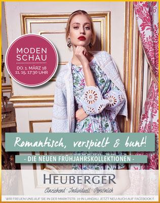 Modehaus Heuberger Kampagnenbild