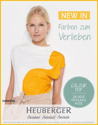Modehaus Heuberger Kampagnenbild - Spring 18