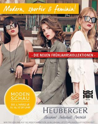 Modehaus Heuberger Kampagnenbild - Sommer 18